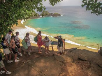 Praia do Sancho ladder