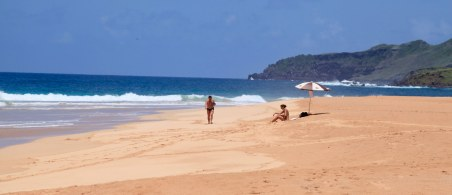 Praia do Leao. Only me and three other people on the whole beach.