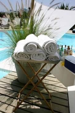 Posada del Faro towels