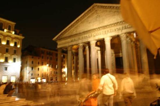Pantheon scene