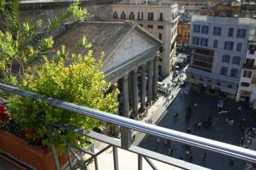 Albergo del Senato balcony