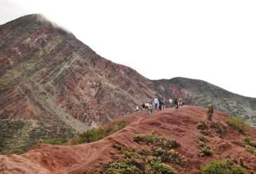 Purmamarca Argentina hill hike