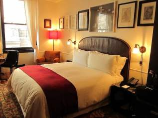 NoMad Hotel bed