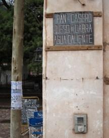 Purmamarca Jujuy Argentina sign