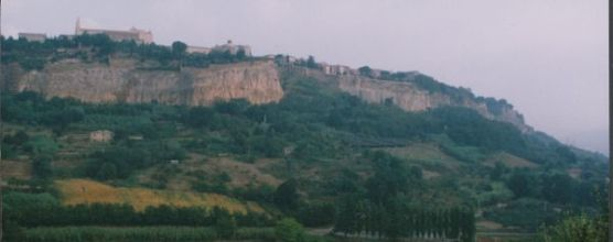 Orvieto cliff