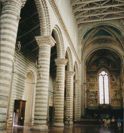 Orvieto church interior