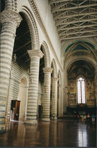 Orvieto church interior