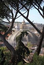 Villa Borghese Gardens church cupola