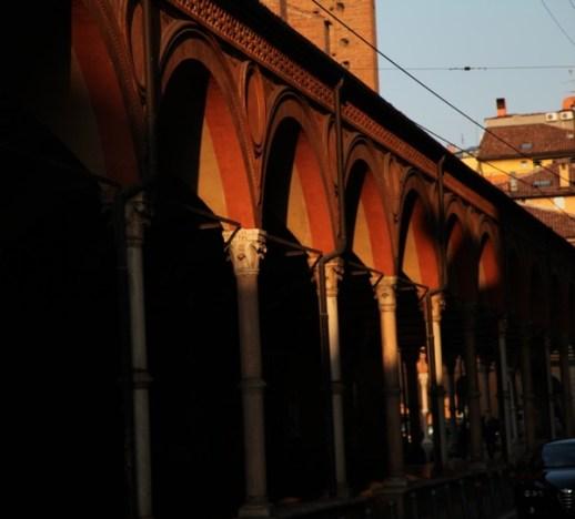 Bologna sunset light