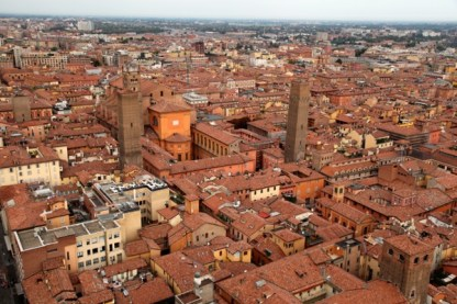 Torre Asinelli view of Bologna