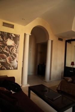 Art Hotel Novecento bedroom entrance