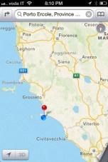 Il Pellicano map