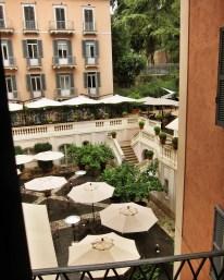 Hotel del Russie suite view