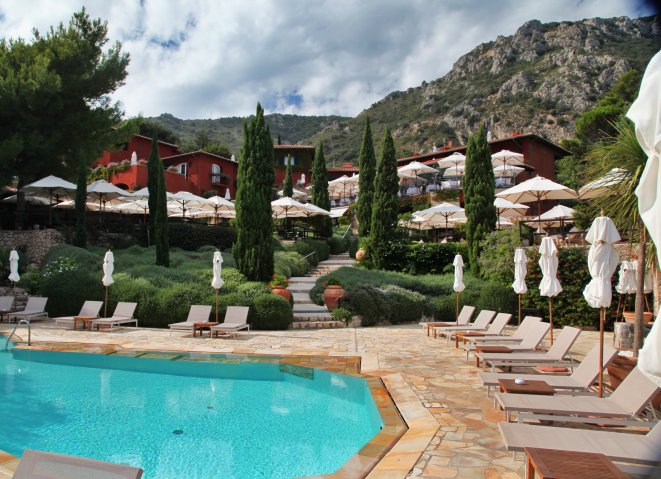 Il Pellicano hotel view