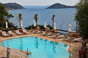 Il Pellicano pool view