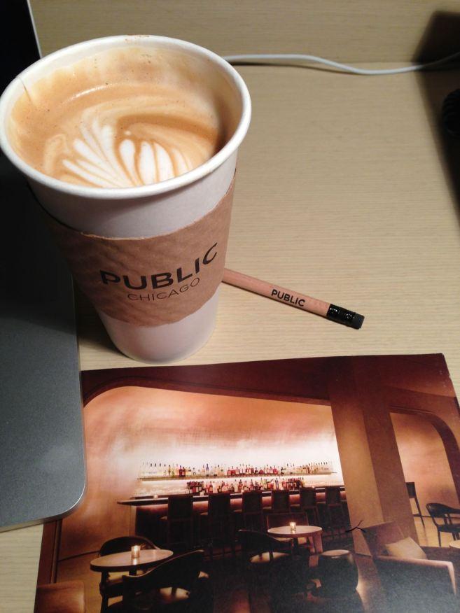 Hotel Ambassador Chicago coffee