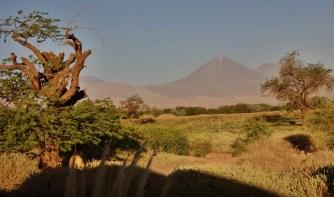 Tierra Atacama volcano view