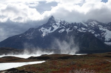 Torres del Paine National Park Patagonia wind