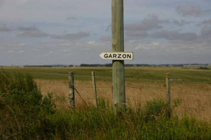 Pueblo Garzon sign