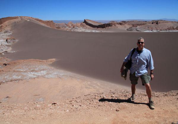 Atacama Val de Luna large dune