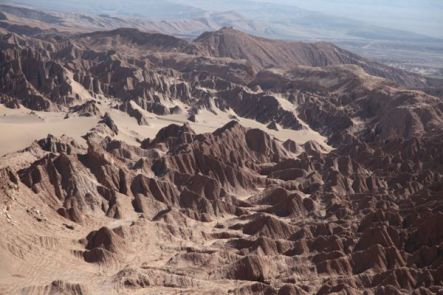 Atacama Desert dry canyons