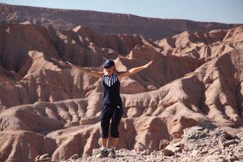 Atacama Desert Devil's Gorge hiker