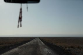 Salar de Atacama road