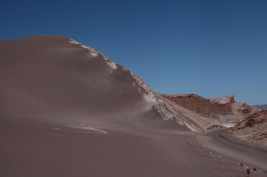 Atacama Val de Luna moon surface