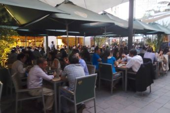 Barrio Lastraría food court