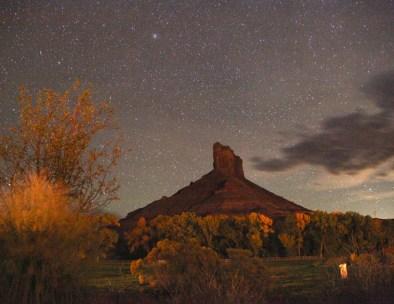 Gateway Canyons night view