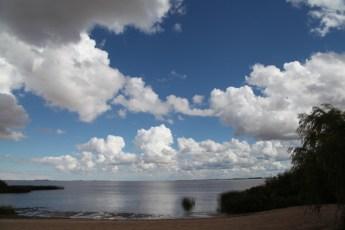 Four Seasons Carmelo river clouds