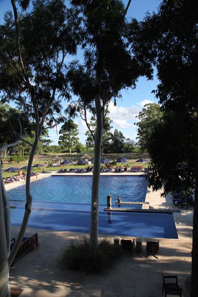 Four Seasons Carmelo -pool shadows