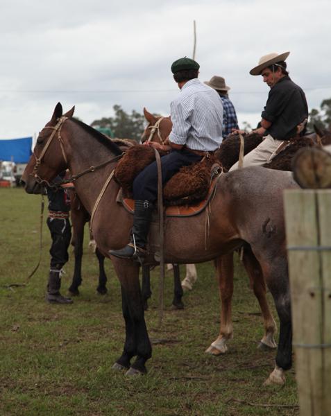 Garzon Carnival gauchos