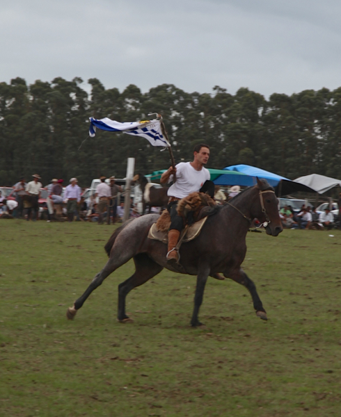Garzon Carnival gaucho flag