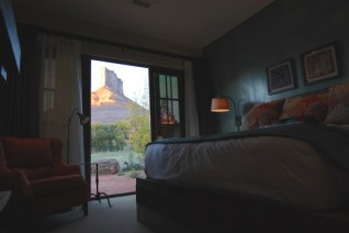Gateway Canyons Resort bedroom view