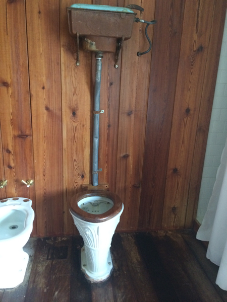 Narbona Wine Lodge toilet