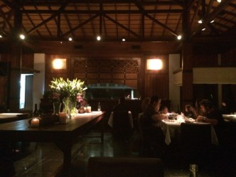 """Not the best photo, but I wanted to be discreet. The restaurant was awesome, with the perfect menu of everything I like, reflecting the local """"cooking with fire"""" culture of Uruguay. And spotlighting the outstanding local wines of the regio"""