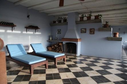 Narbona Wine Lodge room terrace