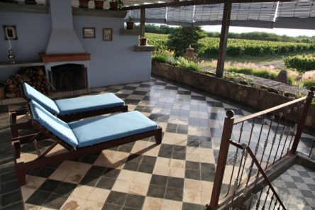 Narbona Wine Lodge loungers
