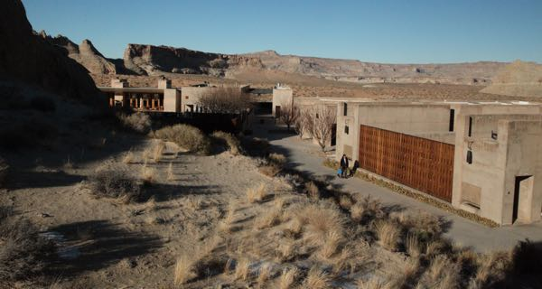 Amangiri views of suites