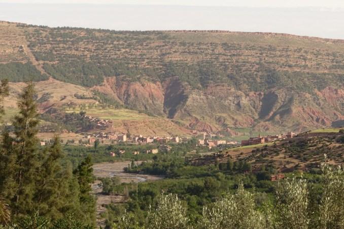 Kasbah Tamadot valley view