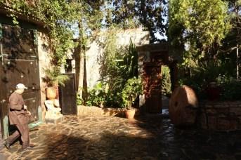 Kasbah Tamadot entrance