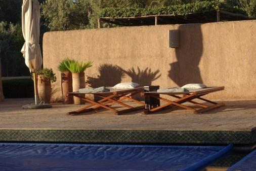 Dar Ahlam pool cots
