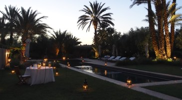 Dar Ahlam twilight pool