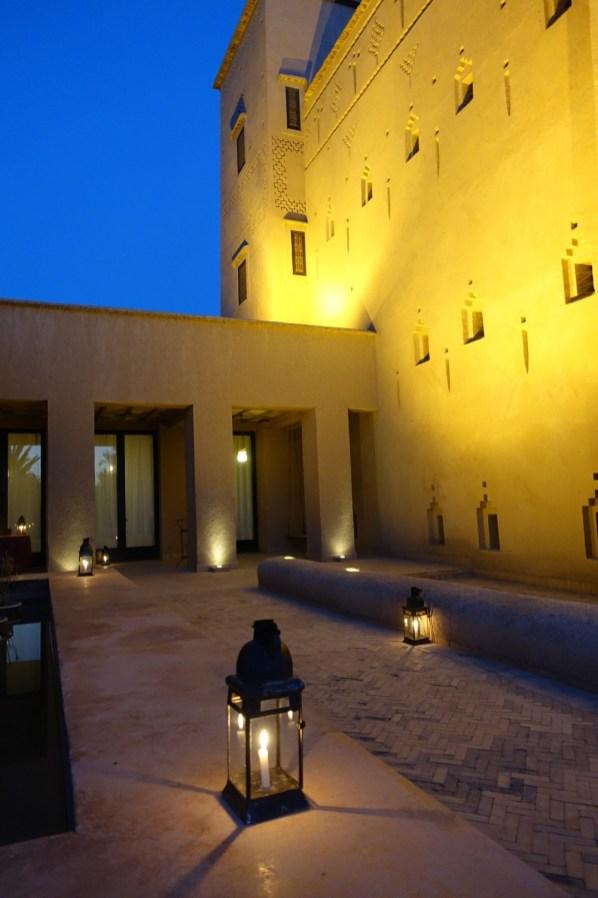 Dar Ahlam dining at night