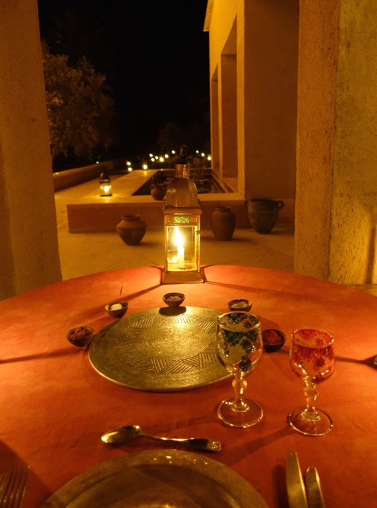 Dar Ahlam table for one