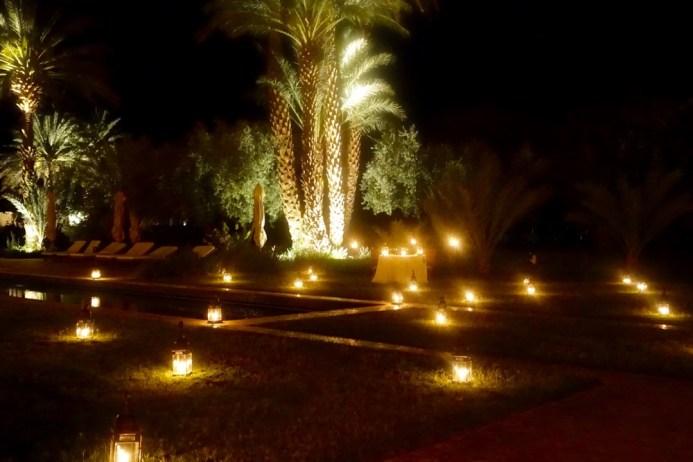 Dar Ahlam at night