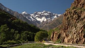 Approach to Mount Toubkal