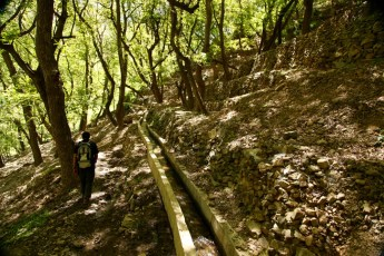 Hiking in the High Atlas irrigation