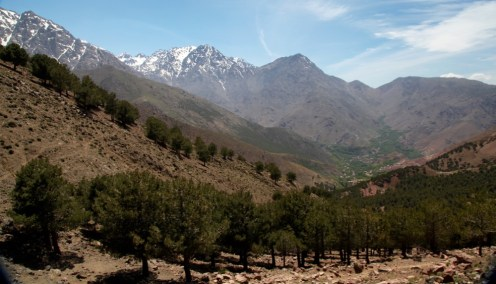 Descent into Toubkal